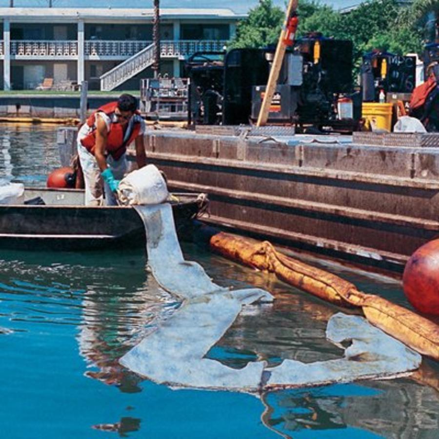 Olie absorberende sleep voor verwijdering van olie op wateroppervlak SPC1900 SPC