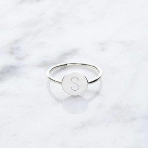Initialring | 925er Silber