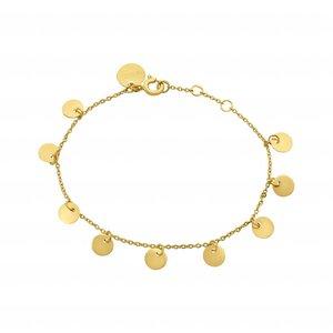La Concha Bracelet | gold plated