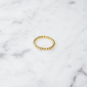 Kugelring | vergoldet