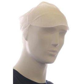 pet met klep + haarnetje wit 1 x 100 stuks