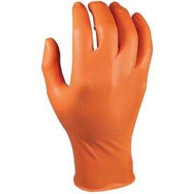M-Safe 246BK Nitril Grippaz 50st mt S t/m 3XL kleur oranje
