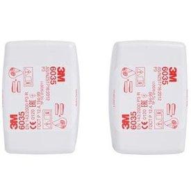 3M 6035 stoffilter P3 R set van 2 filters