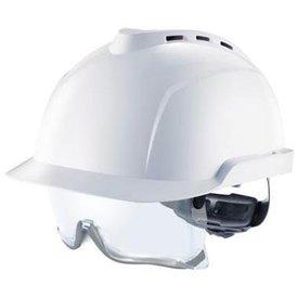 MSA V-Gard 930 geventileerde veiligheidshelm met ingebouwde overzetbril
