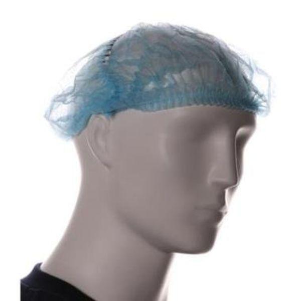 Baret model wokkel detectable blauw 100 st
