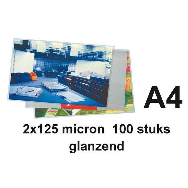a4 lamineervellen 100 st 250 micron