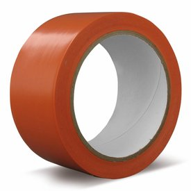 pvc orange -  50 mm x 33 mtr bekistingtape doos a 36 rollen