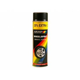 Motip velgenlak zwart glans spuitbus 500 ml