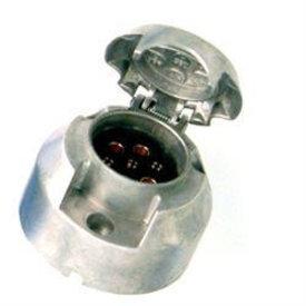 stekkerdoos 7-polig aluminium