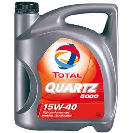 quartz 5000 15w40  5l