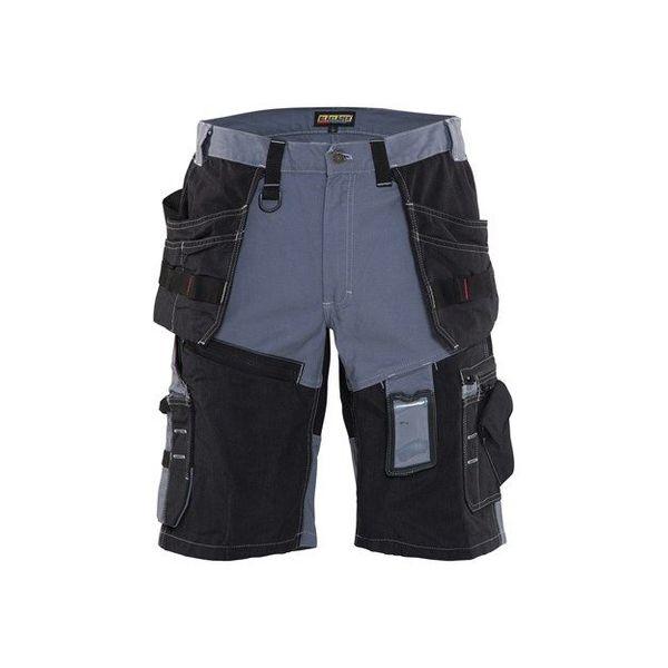 Blákläder Short 1502 grijs/zwart