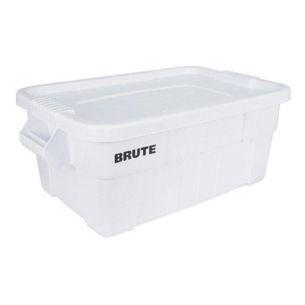 Brute-opbergbox 53 ltr, Rubbermaid Wit met deksel