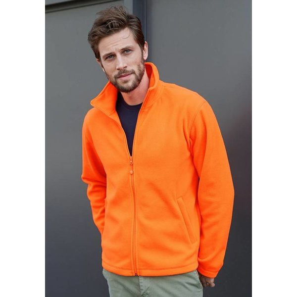 fleecejack Falco oranje XL