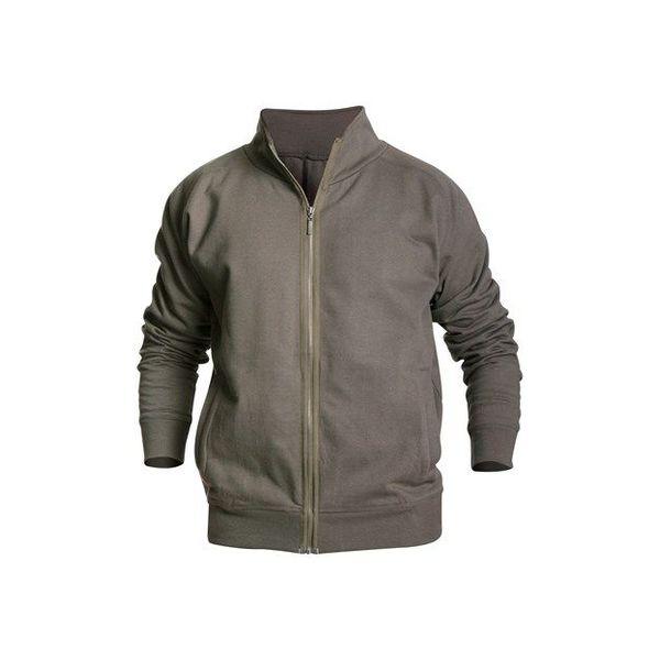 Bläkläder 3349 vest rits armygroen mt S