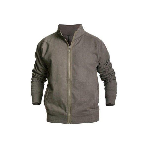 Bläkläder 3349 vest rits armygroen mt M