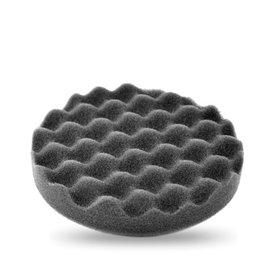 poetspad wafel zwart (zacht) 2 stuks 150mm