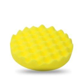 poetspad wafel geel(medium) 2 stuks 150mm