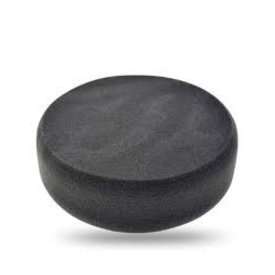 poetspad standaard zwart(zacht) 1 stuks 150mm