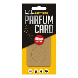 LAFITA parfum card Goutte D'Or