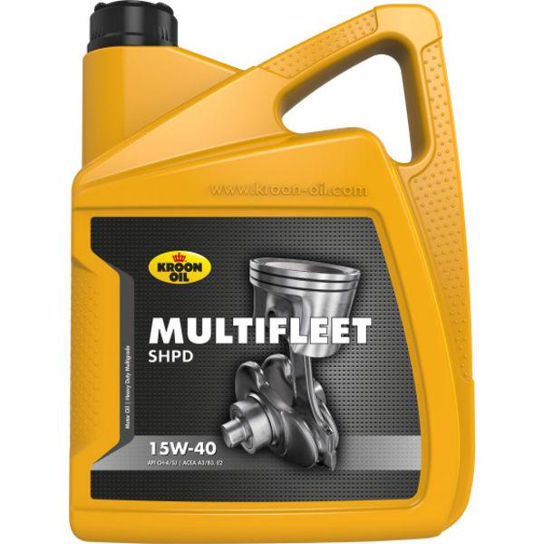 Kroon Multifleed SHPD 15W40 5 Liter verpakking can