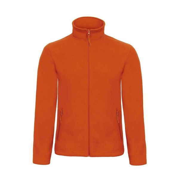 B & C fleece jacket pumpkinoranje M