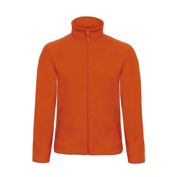 B & C fleece jacket 501 pumpkinoranje L