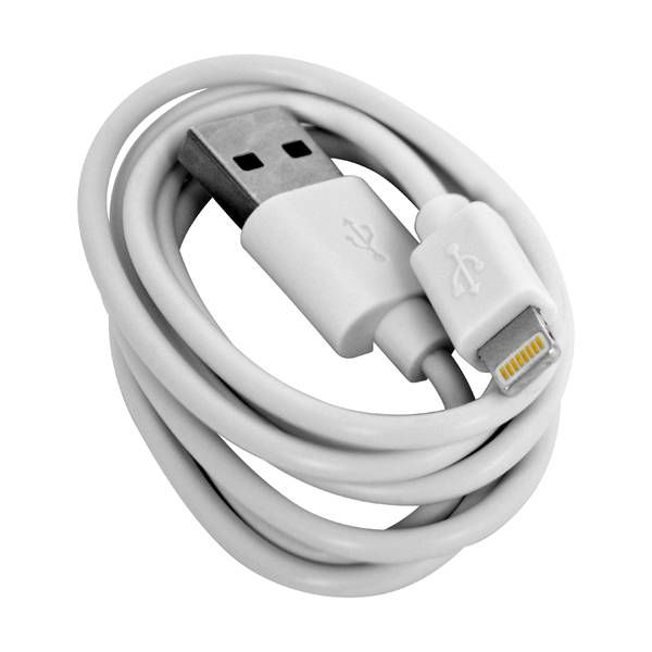 GrabNGo Laadkabel 8-Pins Wit (iphone)