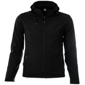 M-wear Softshell6100 zwart