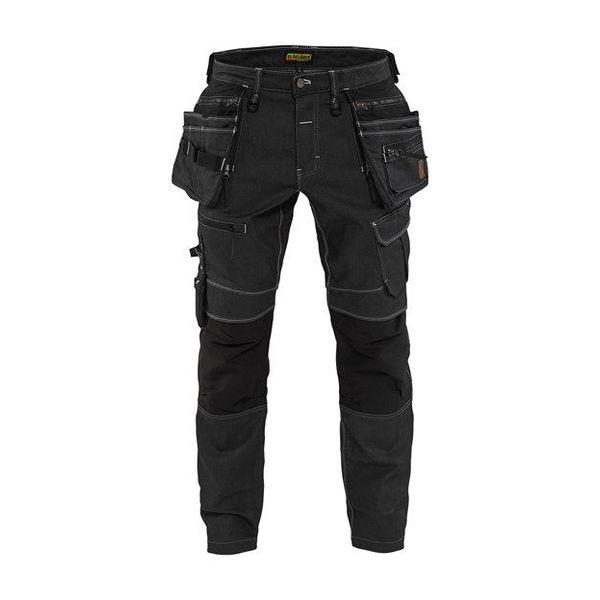 Bläkläder WERBROEK DENIM STRETCH BAGGY X1900 mt C148