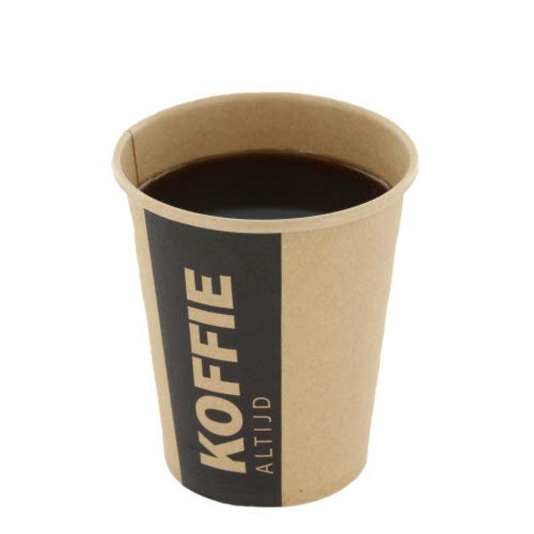 drinkbeker karton altijd koffie 1000st 8 OZ 237 ml 50 stuks