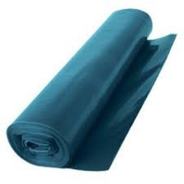 afvalzak Hdpe, blauw 70x110 cm 25 mµ 25 rollen a 20 zakken