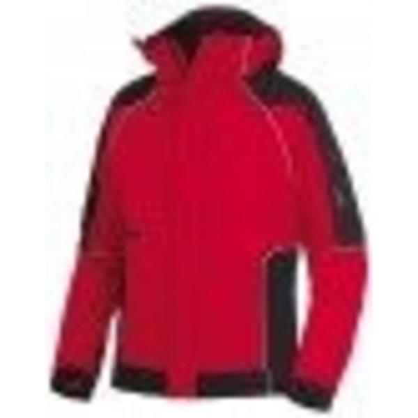 FHB 78518 Softshell Jack Walter rood/zwart