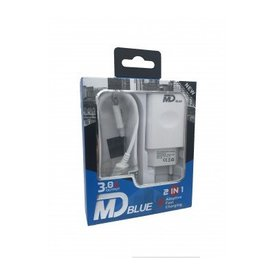 MD BLUE Speed Travel Adapter Micro USB