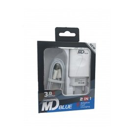 MD BLUE Speed Travel Adapter Type C