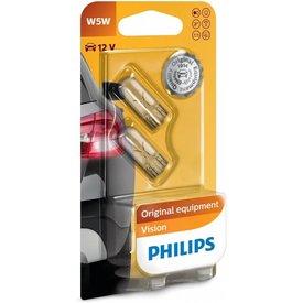 12v5w wedge 2st philips w5w