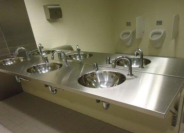 sanitair reiniging