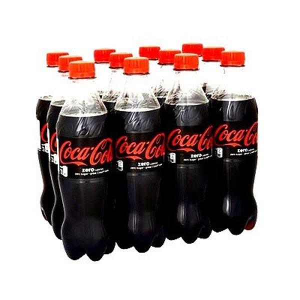 Coca-cola Zero 0,5 L 12 flesjes