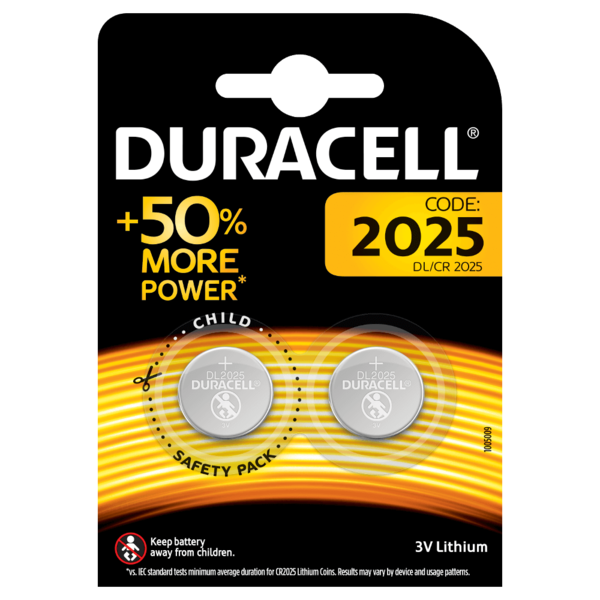 duracel electronics 2025 (2 stuks) incl. vb.