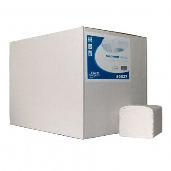 euro bulkpack, tissue wit 21 cm x 11 cm doos 36 bundels a 25