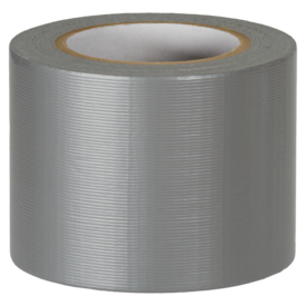 superducttape 310 - grey/silver doos a 12 rollen 100mm - 50m