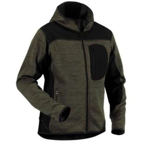 Bläkläder vest 4930 groen/zwart mt L