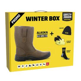 safetyjogger promobox Alaska laars bruin
