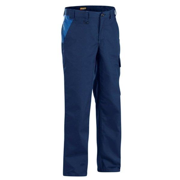 Bläkläder werkbroek 1404 marineblauw/korenblauw mt 52