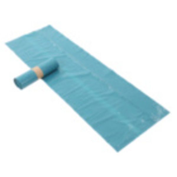 afvalzak sterko ldpe, blauw 65/25x140 cm 70 mµ 1 rol
