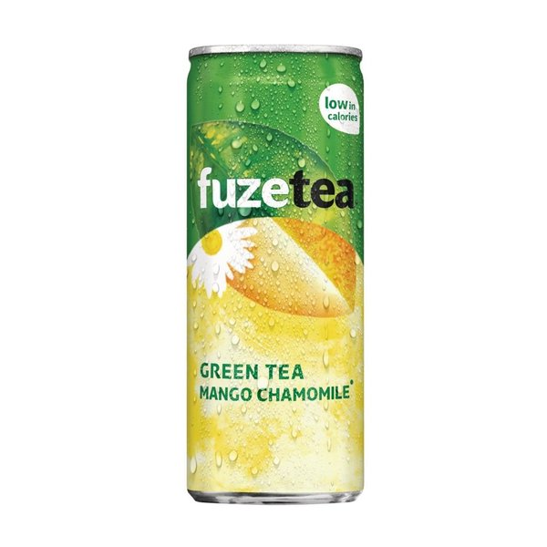 Fuze Tea Green Mango Chamomile 24 x ,025cl