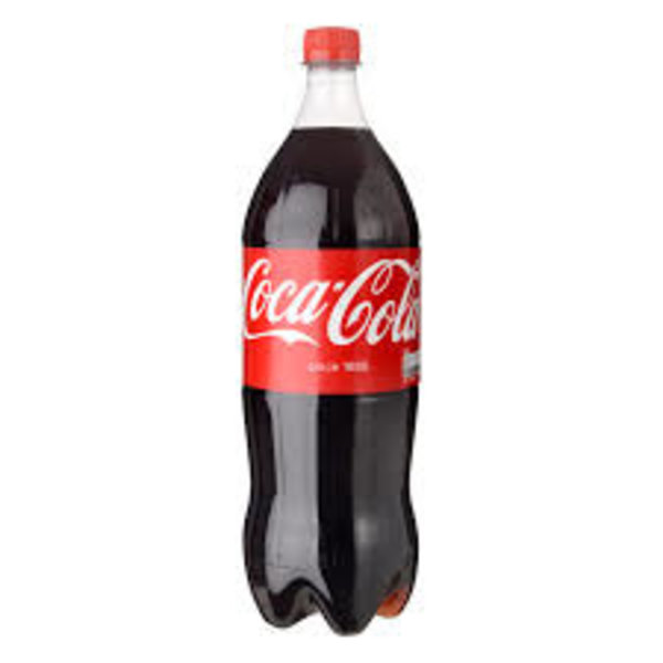 coca cola petfles 1 Liter