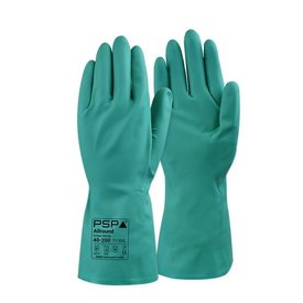 PSP Nitrile-Chem 40-200 handschoen maat 10