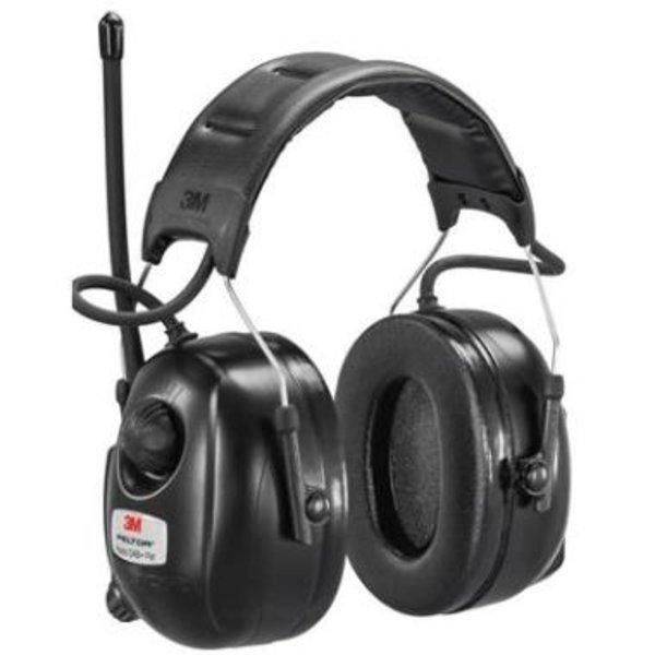 3M Peltor DAB+ FM Radio gehoorkap met hoofdband