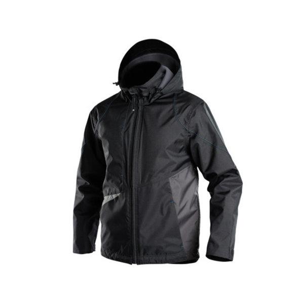 Dassy Jas Hyper zwart/antracietgrijs maat XL
