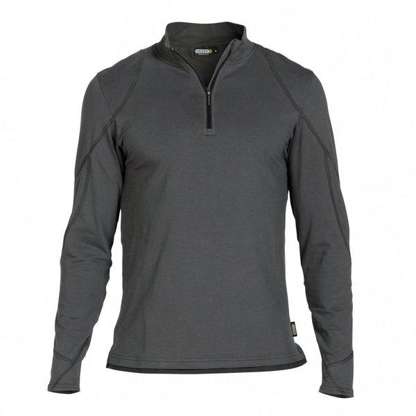 Dassy T-Shirt Sonic Antracietgrijs/zwart L
